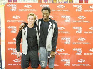 Connor McDavid and Andrew Wiggins