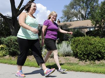 Burlington women walk in OneWalk to Conquer Cancer in honour of a special mom and friend