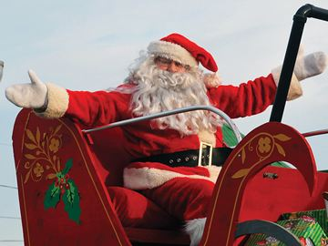 Santa Claus spent quite a bit of time in Wasaga Beach this past weekend making a grand entrance at the parade Saturday but also stopping by the annual tree lighting Friday and Breakfast with Santa Sunday.