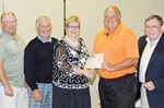 Tiny Township golfers support local causes