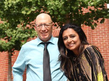 David Tuley and Tina Sharma