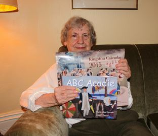 Mary Alice Downie just released her latest children's book 'ABC Acadie: An Acadian Alphabet'. She has also been working on this year's Quarry Press Kingston calendar.