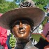 Lucy Maud Montgomery statue unveiled at historic Leaskdale site