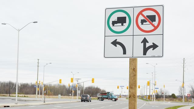 New truck signs in Osgoode