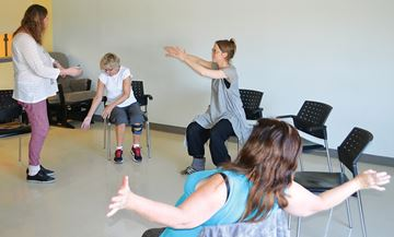 Dance therapy at Chigamik in Midland offers relief from chronic pain