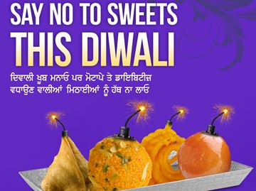 Say no to sweets
