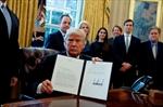 Trump signs orders advancing Keystone, Dakota pipelines-Image1