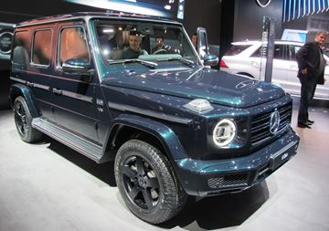 The new Mercedes-Benz G-Class SUV combines luxury and connectivity with renown off-road capability.