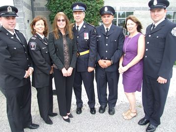 Orillia firefighters, paramedics honored