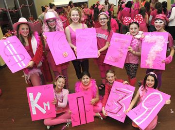 Burlington Synchronized Swimming Club Raises 6 237 For Canadian Breast Cancer Foundation