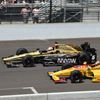 Despite fast early pace, Hinchcliffe settles for seventh at Indy 500