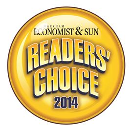 2014 Markham Economist & Sun Readers Choice Logo