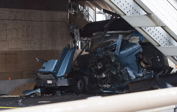 SKYWAY BRIDGE DAMAGE