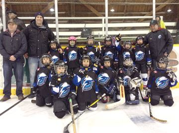 Meaford Tyke 1 team finishes season