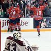Gens Petes goal celebration