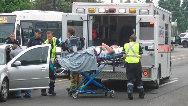 Pedestrian struck on Willow Road