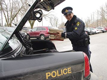 OPP deliver Meals on Wheels in Alliston