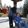 Blue Mountain staffer cuts locks for hospital fundraiser