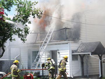 Monk Street fire