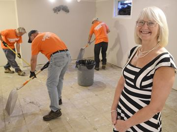 Samaritan's Purse offering cleanup help for flooded Burlington homeowners