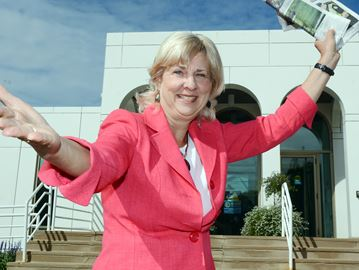 Mayor Expresses herself