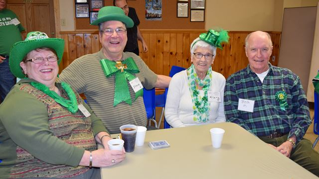 Stittsville Lions Hall filled with green for St. Patrick's Day