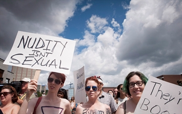 Topless rally comes to Waterloo, Ont.-Image1