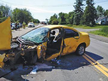 High-speed collision