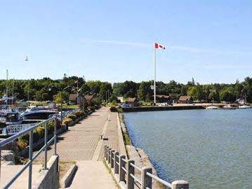 Cell tower at Meaford Harbour halted