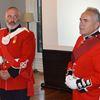 RHLI sergeant Brian Buckle (left) and second lieutenant Richard Moll