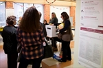 Long lineups reported as advance polls open-Image1
