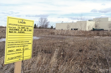 5055 Greenlane, Beamsville, site of a proposed residential development.