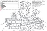 SantaFest Colouring Contest