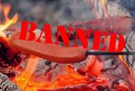 Backyard fire ban