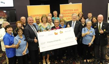 $1.3 million raised for local charities at Oakville Delta Gaming Centre since 2012 revitalization