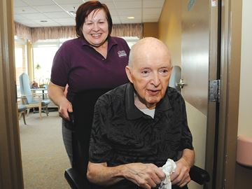 Giving 110 per cent wins Barrie caregiver national honour