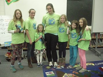 Sharon Public School eco team