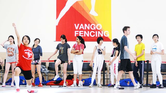 Markham Fencing Centre Takes Stab At Fitness Fun