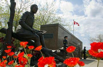 McCrae Monument