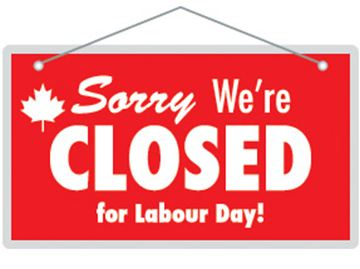 What's open and closed on Labour Day in Simcoe County