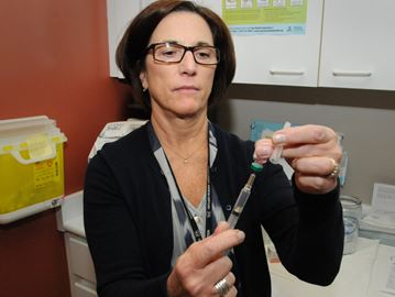 Measles clinics today in Barrie, Collingwood, Cookstown