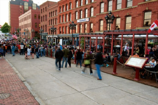 Saint John Boardwalk Restaurants