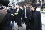 Jian Ghomeshi and Marie Henein