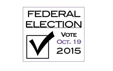 Federal Election: Vote Oct. 19 2015