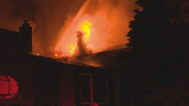 Fire severely damages two homes and sends one to hospital in Oakville