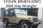 Stolen Jeep in Bradford