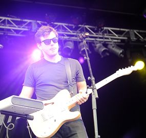 Gold and Youth, an Indie rock and Electronic band based out of Vancouver and Toronto, opened the evening on the main stage at the Burlington Sound of Music Festival at Spencer Smith Park on Saturday.