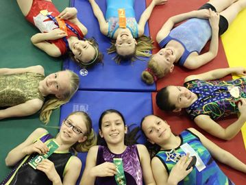 Utopia gymnasts compete at provincials