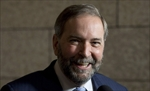 Smiling Mulcair