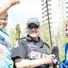 Cops, kids go fishing